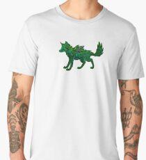 Celtic Brush Wolf Men's Premium T-Shirt