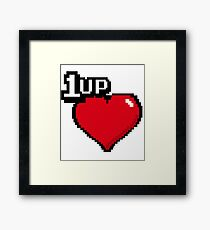 1 Up Framed Print
