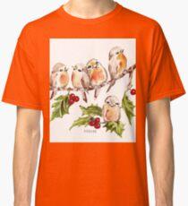 Merry Christmas! 7 Little birds Classic T-Shirt