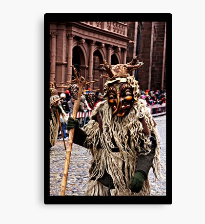 Wild Man Canvas Print