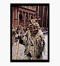 Wild Man Photographic Print
