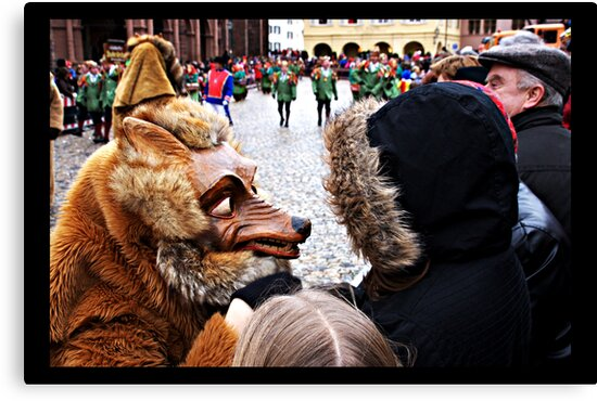 My, what big teeth you have by Jörg Holtermann