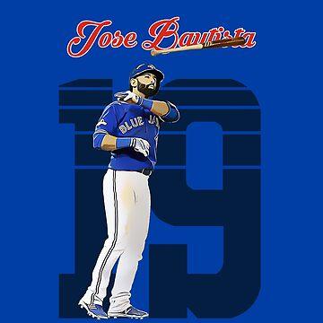 Jose Bautista - Toronto Blue Jays by haydenburkiit