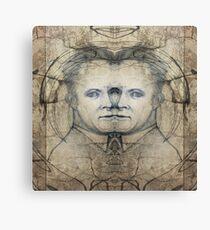 Werner Karl Heisenberg on MDMA Canvas Print