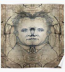 Werner Karl Heisenberg on MDMA Poster