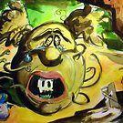 """The Coke, The Exctasy & The Face of Death (and insprational motif after Salvador Dali's"""" Faces of War"""")  by Snuffle"""