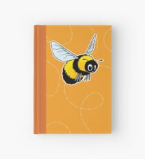 Happily Bumbling Bumble Bee Hardcover Journal