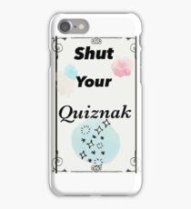 """""""Shut your quiznak"""" Voltron Merch  iPhone Case/Skin"""