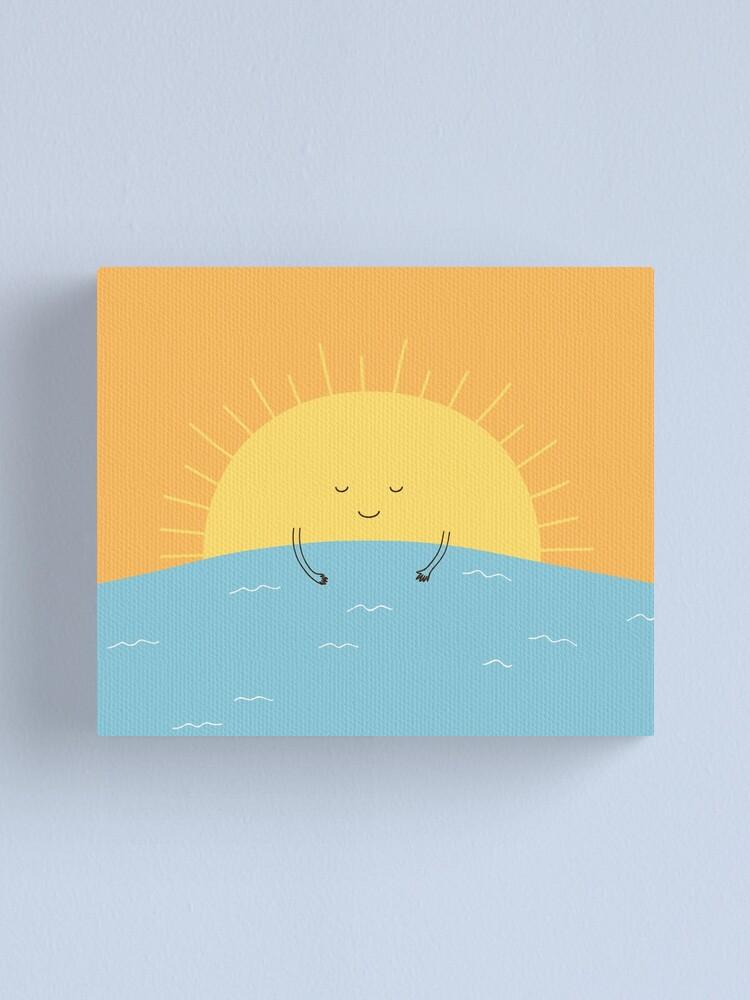 Alternate view of good morning sunshine! Canvas Print