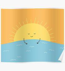 good morning sunshine! Poster