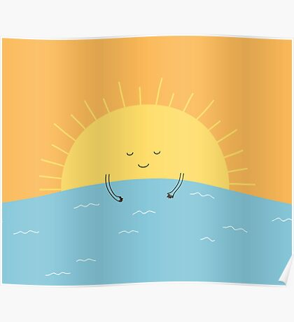 good morning sunshine! Poster
