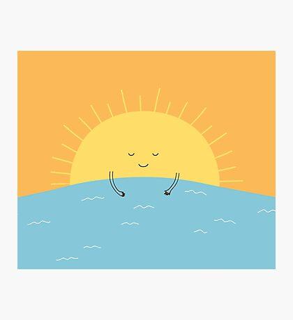 good morning sunshine! Photographic Print