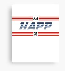 J.A. Happ - Toronto Blue Jays Canvas Print
