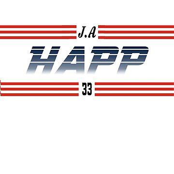J.A. Happ - Toronto Blue Jays by haydenburkiit
