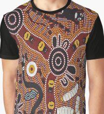 Australian Aboriginal Graphic T-Shirt