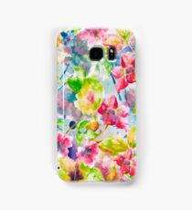 Watercolor Flowers Samsung Galaxy Case/Skin