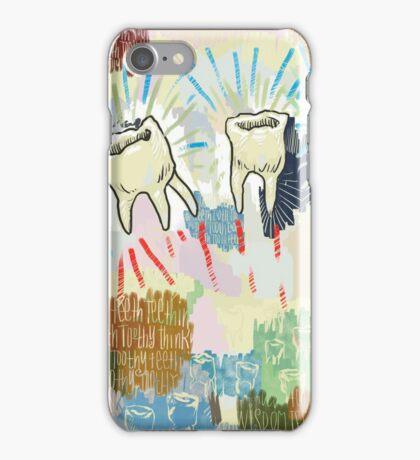 Teethtoothtoothtoothteeth iPhone Case/Skin