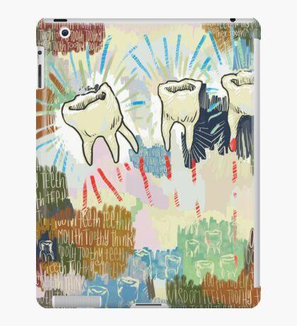 Teethtoothtoothtoothteeth iPad Case/Skin
