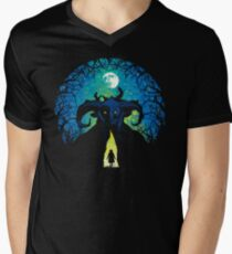 Underground Realm Men's V-Neck T-Shirt