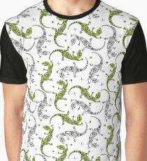 Gecko lizards pattern Graphic T-Shirt