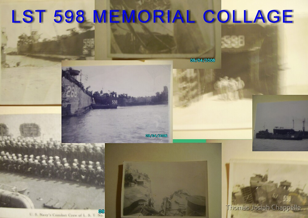 LST 598 Collage by Thomas Josiah Chappelle