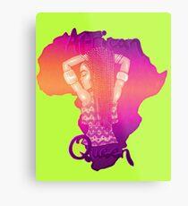 African Queen Sunset Metal Print