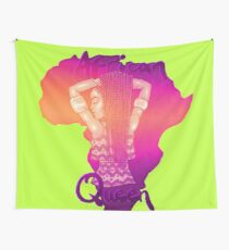 African Queen- Sunset Wall Tapestry