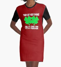st patrick drinking Graphic T-Shirt Dress
