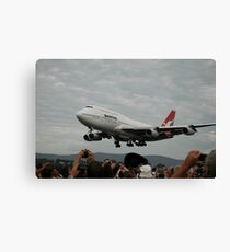 Final Flight VH-OJA,Albion Park,Australia 2015 Canvas Print
