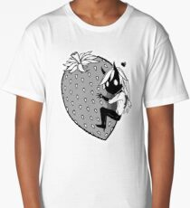 Big Strawberry Long T-Shirt