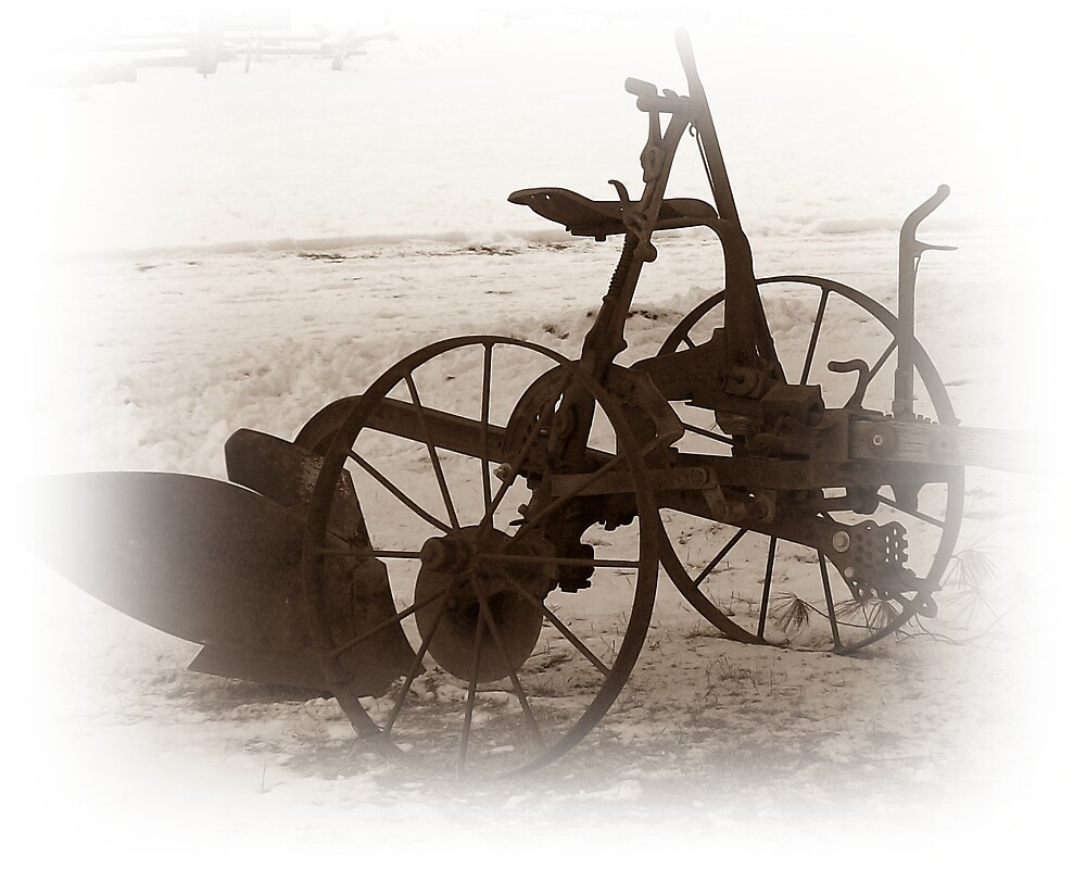 Old Time Plow by rgumz