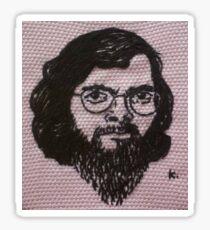 Terence Mckenna (hand embroidered) Sticker