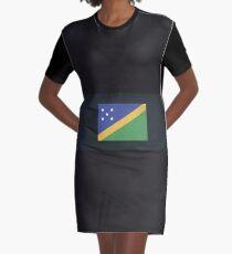 Solomon Islands Graphic T-Shirt Dress