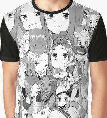 Takagi-San, Queen of Smug Graphic T-Shirt