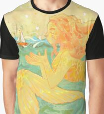 A Warm Summer Breeze Graphic T-Shirt