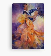 Ballroom Dancing – Dance Art Gallery 32 The Waltz Canvas Print