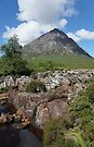 Buachaille Etive Mor 136, the Highlands of Scotland by David Rankin