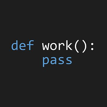 Lazy Python Programmer by skulioskarsson