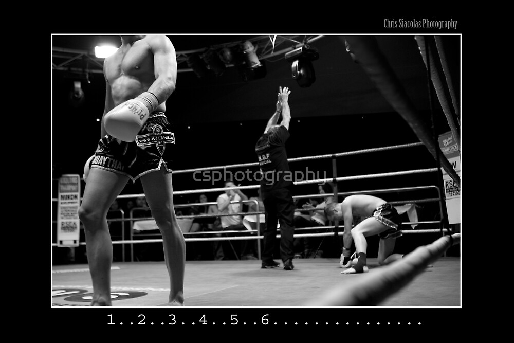 Boxing - Knock out by csphotography