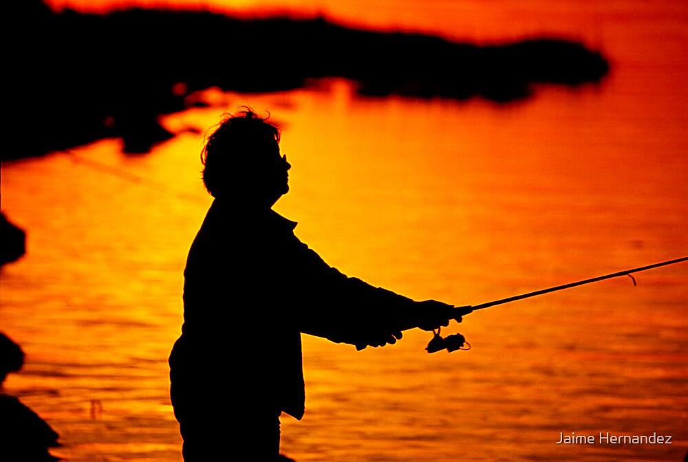 The Fishing Lady by Jaime Hernandez