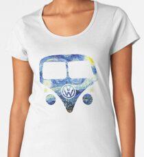 Split Window Kombi - Starry Night Women's Premium T-Shirt