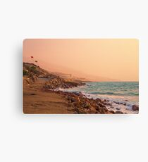 Jordan. Dead Sea. Sunrise. Canvas Print