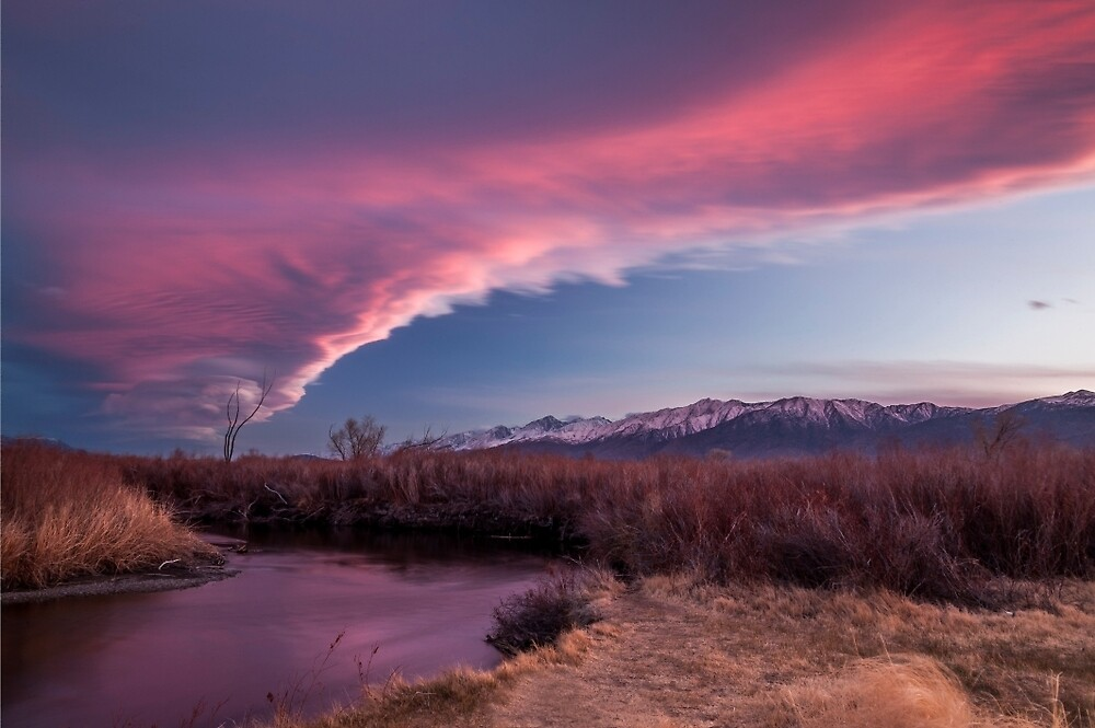 Sierra Wave and Lower Owens by Cat Connor
