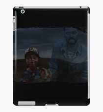 TWDG Clementine and Ghost Lee iPad Case/Skin