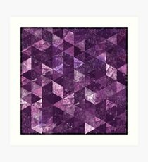 Abstract Geometric Background #10 Art Print