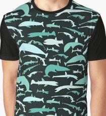 Sea seamless pattern Graphic T-Shirt