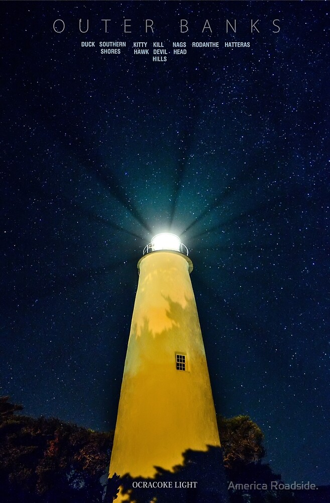 Ocracoke Island. by America Roadside.