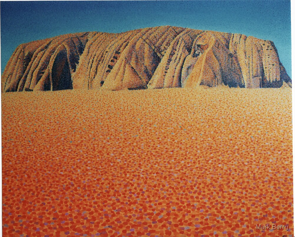 Uluru 2 by Mark Berry