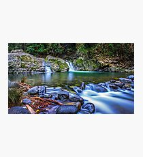 Allyn River Waterfalls Photographic Print