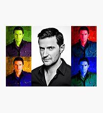 Richard Armitage Pop-Art Collage Photographic Print